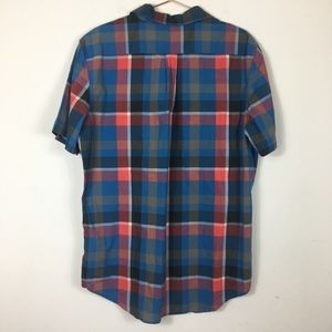 Levi's Shirts - Levi's Plaid Collar Button Down Blue Red XL